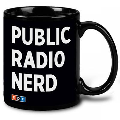 KAZU Public Radio Nerd Mug