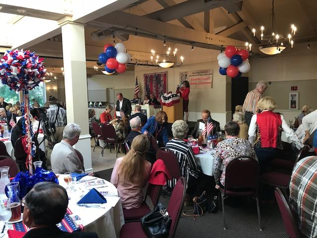 About 200 attended the second-annual fundraising luncheon. It's the biggest fundraiser of the year for the Monterey Peninsula Republican Women Federated.