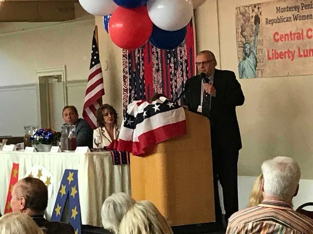 Former Sheriff Joe Arpaio spoke about immigration, abortion and the media during his speech at the 2018 Central Coast Liberty Luncheon.