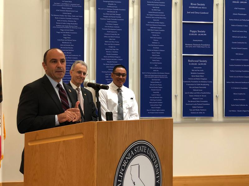 Congressman Jimmy Panetta talks about the Veterans Resource Center Act he introduced in Congress.