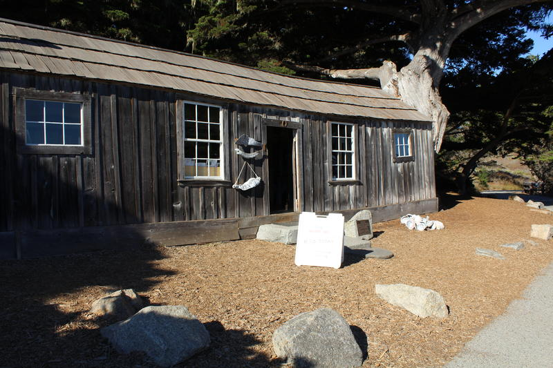 Chinese fishermen built this cabin at Whaler's Cove in the 1850s. Today, it's a museum that explains the area's history through art, artifacts and text.