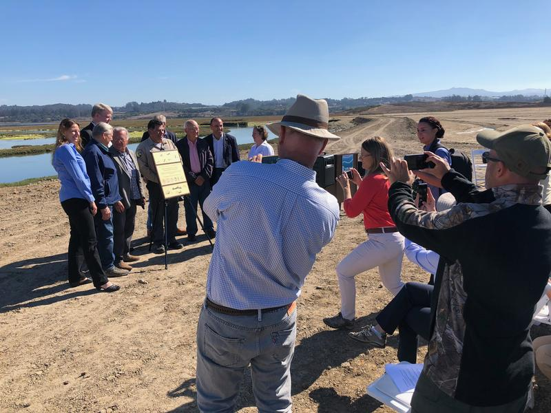A celebration on Friday marked the Elkhorn Slough's designation as a Wetland of International Importance.