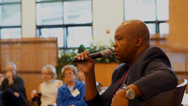 Glynn Washtington, Creator of Snap Judgment at KAZU Salon Event