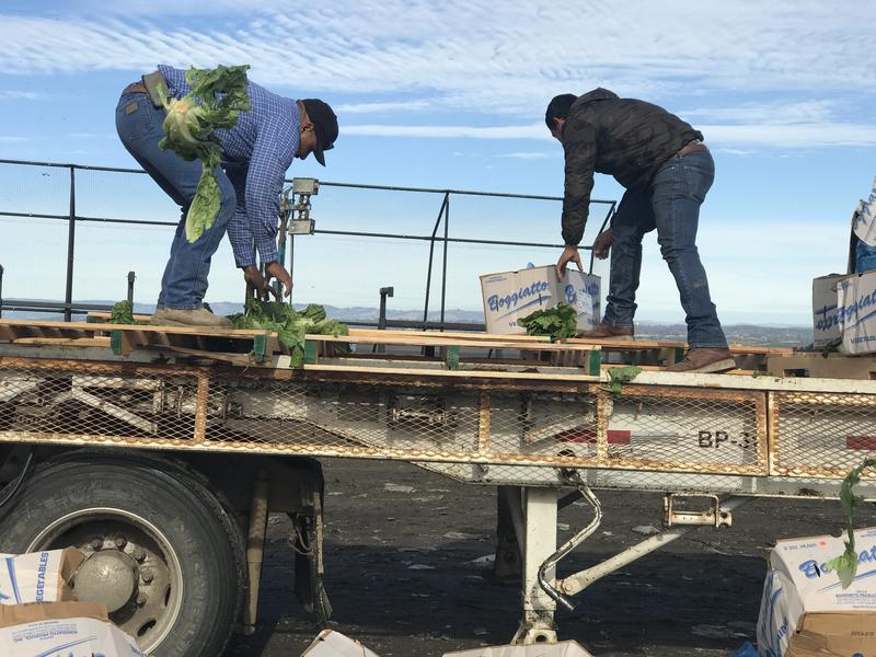 The Monterey Regional Waste Managment District has received about 110 tons of romaine so far.