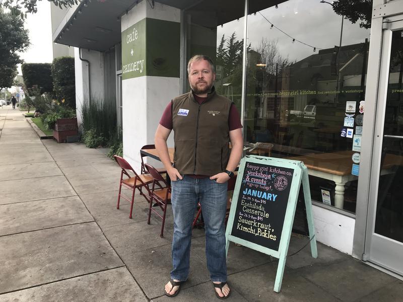 Elliott Hazen works for NOAA in Monterey. He's furloughed due to the government shutdown.