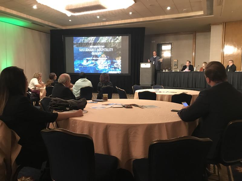 The 2nd Annual Sustainable Hospitality Summit took place at the Portola Hotel and Spa in Monterey.