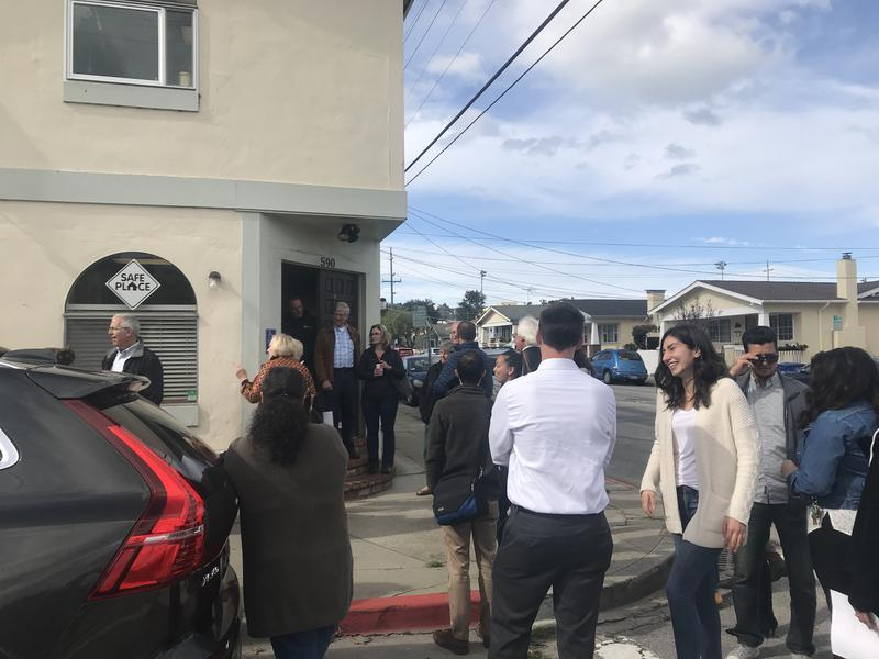 On Thursday, Community Human Services held a grand reopening of Safe Place. About 50 community members came out to see the improvements and learn more about the program.