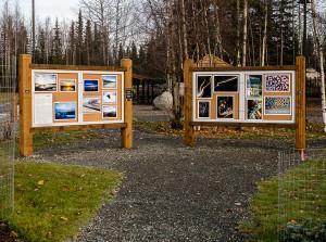 Soldotna's new Art Park display