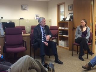 Senator Stevens at the Homer LIO
