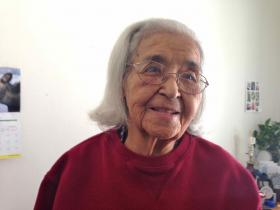 At age 92, Marian DeWitt attributes her longevity and good health to a traditional Tlingit Indian diet -- rich in fish and other seafood, and venison and other game.