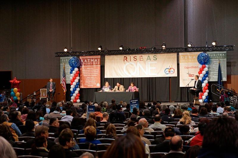AFN Debate; Dan Sullivan, Mark Begich
