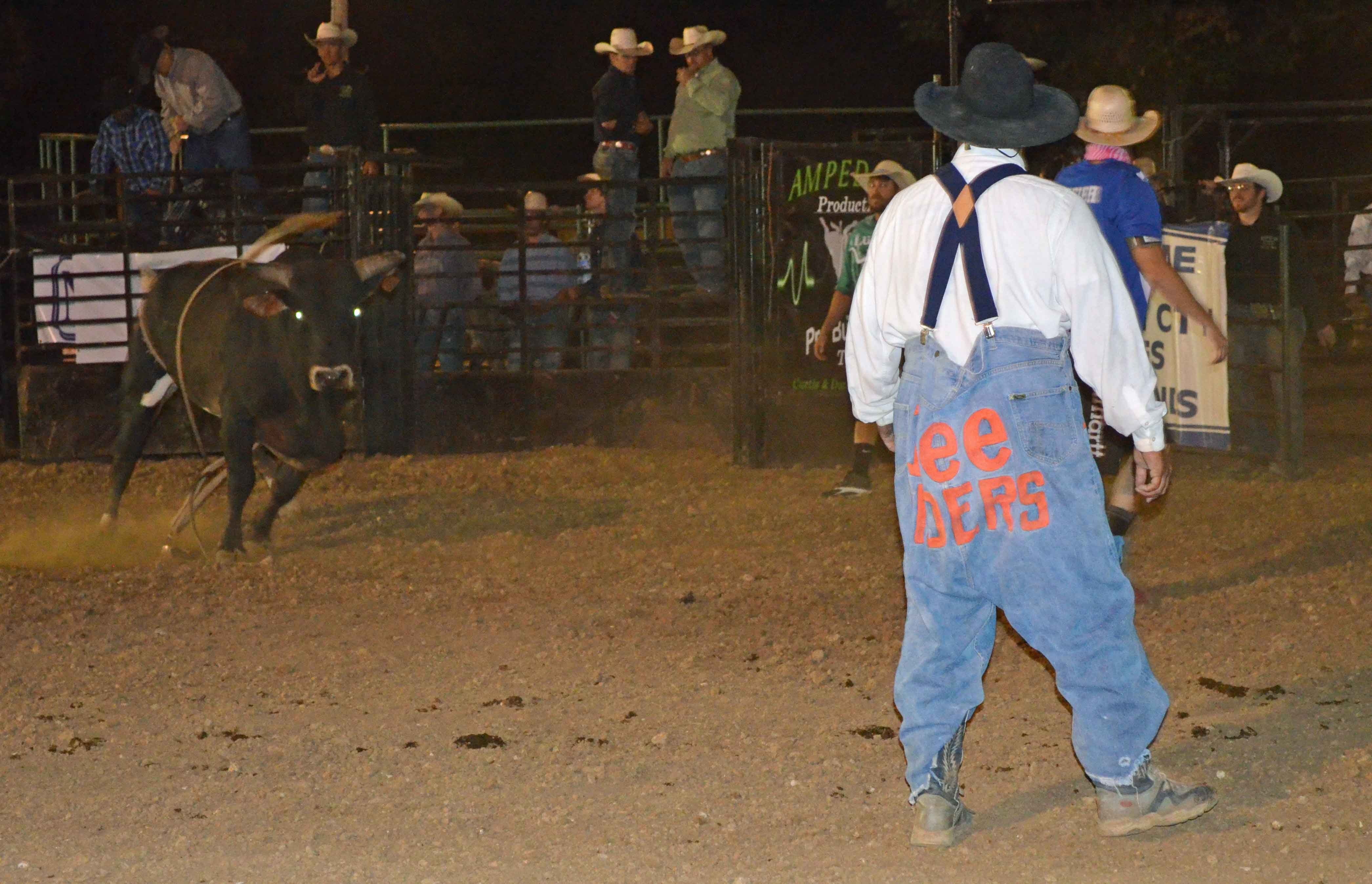 Controversial Rodeo Clown Makes First Appearance Since Mo