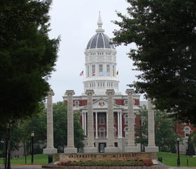 Jesse Hall and the Mizzou columns