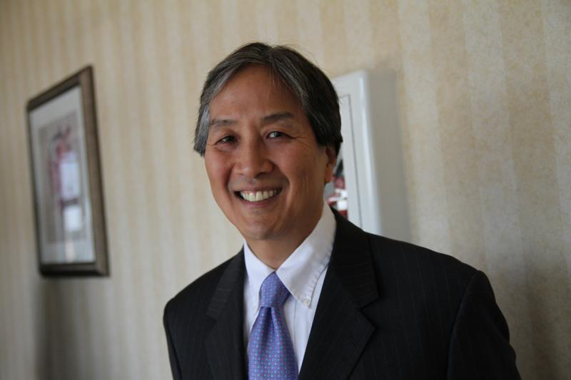 Howard Koh, assistant secretary for health at US health and human services, was in Columbia for a summit on health literacy.