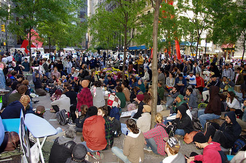 Demonstrations have spread to other cities since the Occupy Wall Street protests began in September.