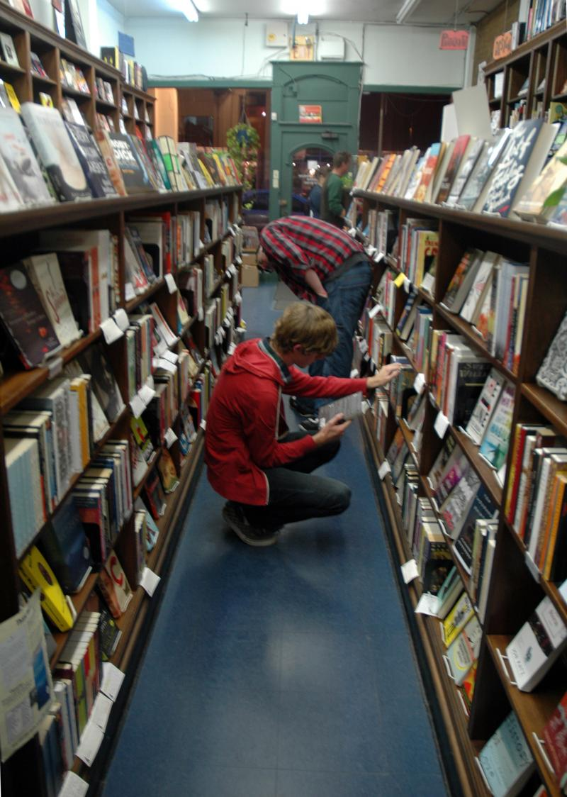 Subterranean Books on the Delmar Loop appeals to a younger, literary crowd with a hip, well-curated selection.