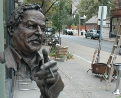 Tennessee Williams is one of two writers already represented at the corner of Euclid and McPherson avenues in the Central West End.