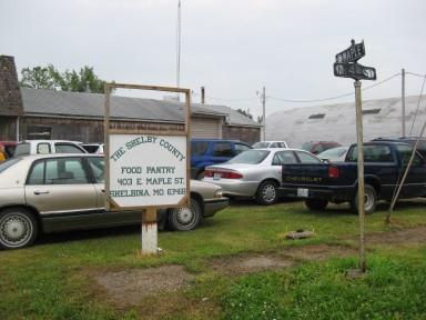 The Shelby County Food Pantry in Shelbina, Mo.