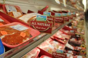 "Meat that's raised with antibiotics, growth promoters, and fed animal by-products could be labeled ""Natural"" under the current USDA definition of the term. That's because the label only refer to how the meat was processed after slaughter."