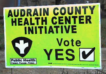 Voters came out 60 percent in favor of the health center initiative.