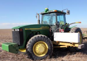 Kansas farmer Jason Ochs still has to man his tractor to plant winter wheat. If an autonomous tractor were planting the wheat, Ochs would be free to attend to his corn and sorghum, and prepare for the winter freeze.
