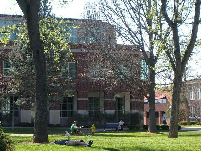 The campus at Truman State.
