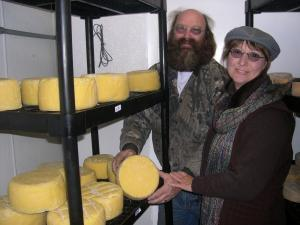 Mark Amstrong and Barbara Grant have walked away from their successful cheese-making operation near Springville, Iowa
