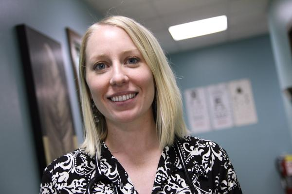 "Katie Dias started in the Northwest Medical Center in seventh grade, as a ""candy-striper."" In August, she became hospital's first ""home-grown"" physician."