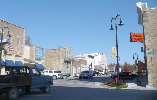 Onega's business district was left without a grocery store when its old market burned down in December 2010.