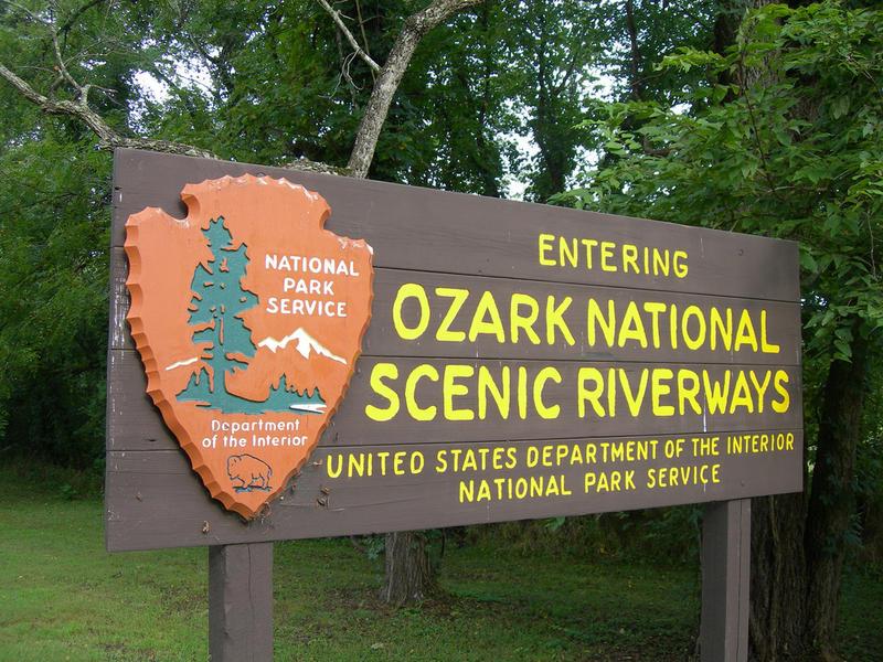 ozark riverways sign