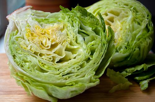 Are most Midwest dinner tables filled with rows and rows of iceberg lettuce?
