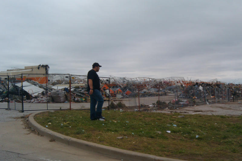 Joplin's Home Depot after the May tornado.
