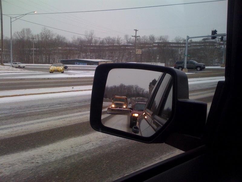 Missouri drivers advised to use caution today.