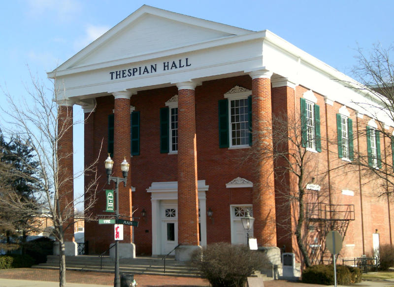 Of all the historic buildings in Boonville, one of the most well-known is Thespian Hall, which still hosts dramatic and musical performances throughout the year.