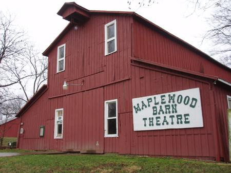 The Maplewood Barn Theatre's previous space was destroyed by a fire in April 2010.