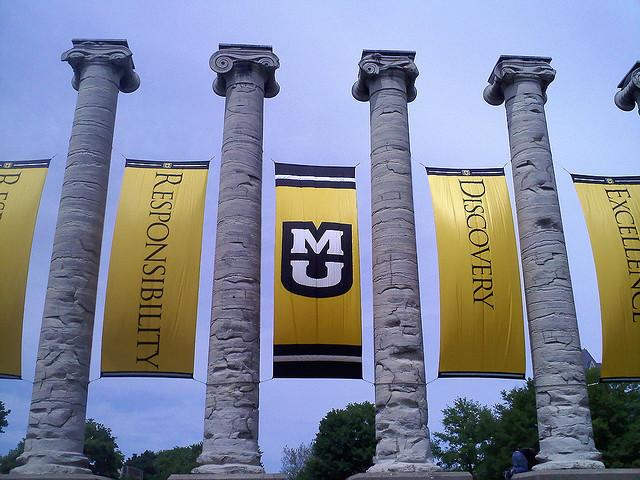 The University of Missouri reports a student loan default rate at 2.3 percent.