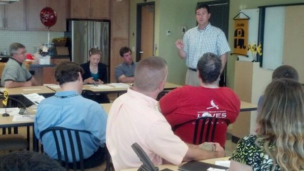 Missouri Senator Brad Lager spoke with Boone County Republicans Monday about GOP focus points in an election year.