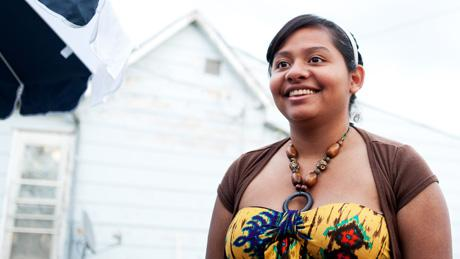 For Mexico teen Monica Martinez, life is a balance between faith, family and her own dreams.