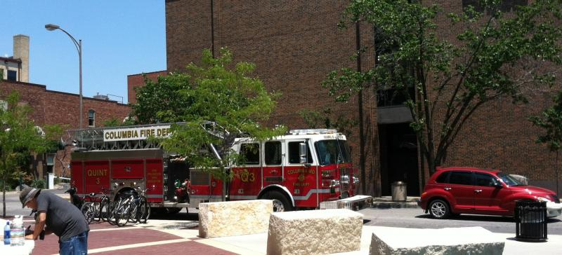 Columbia Fire Truck