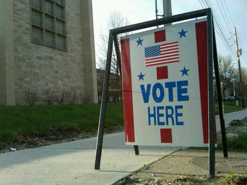 Polls are open this election day, until 7 this evening.