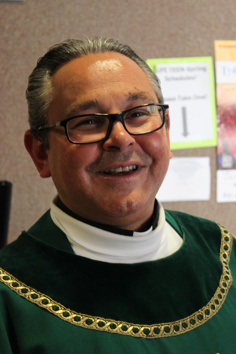 Fr. Thomas Saucier serves as pastor at the St. Thomas More Newman Center.