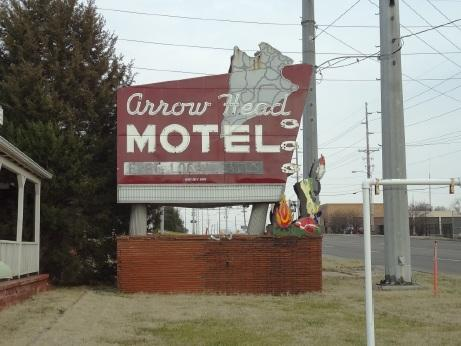 The Arrow Head Motel was added to the Columbia Historic Preservation Commission's list of notable properties in 2012.