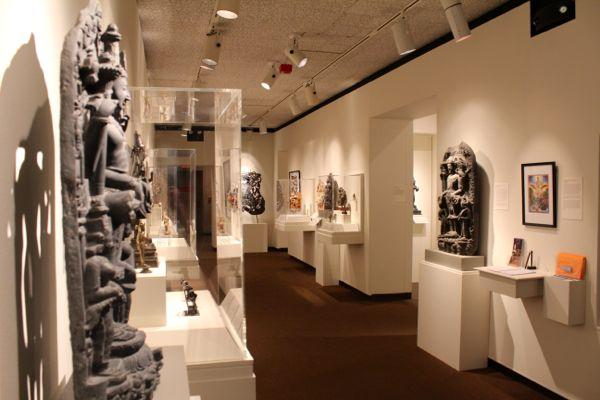 "MU's Museum of Art and Archaeology is currently displaying ""Seeing the Divine in Hindu Art."" The exhibit runs through Dec. 16."