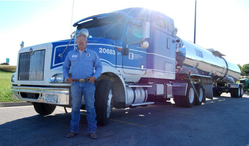 The 62-year-old trucker Del Smith has survived rodeos, Vietnam and an industrial accident in Texas. But he never expected he'd meet his next brush with death in this very truck by eating a cantaloupe he bought in July at an Illinois farm stand.