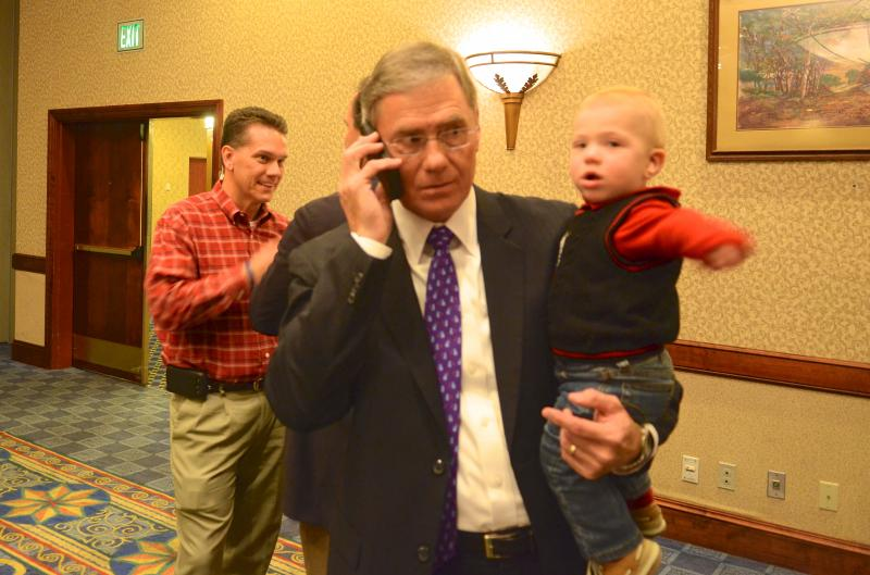 Rep. Blaine Luetkemeyer and his grandson