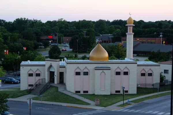 The Islamic Center of Central Missouri is located on the corner of Elm and Fifth Street. Muslims gather at this time of day to read one out of their five daily prayers.