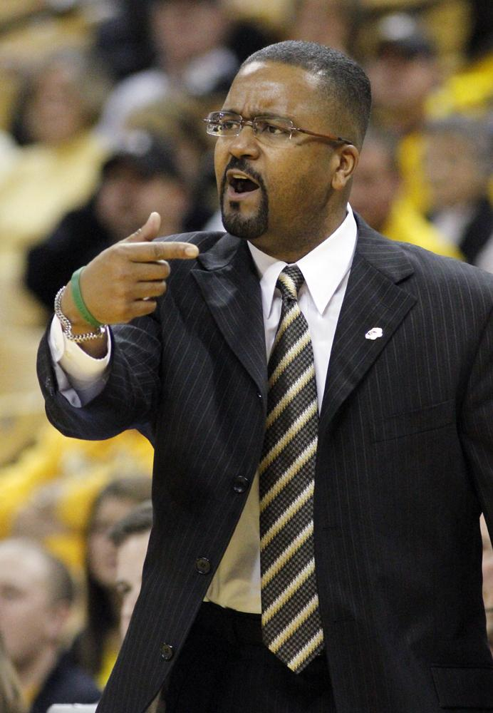 MU basketball Coach Frank Haith