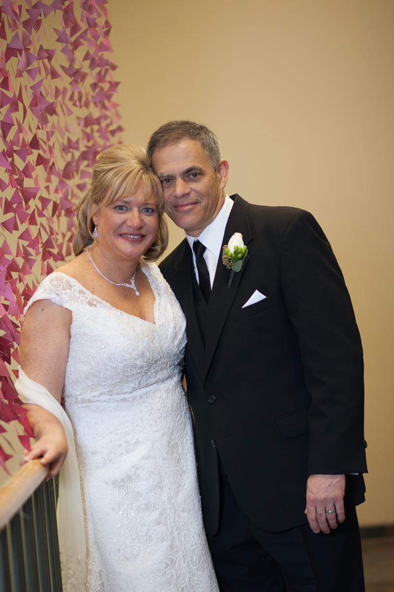 Amy Gearhardt and her husband, Mark Anderson, were married last year. Gearhardt is a pastor at Missouri United Methodist Church.