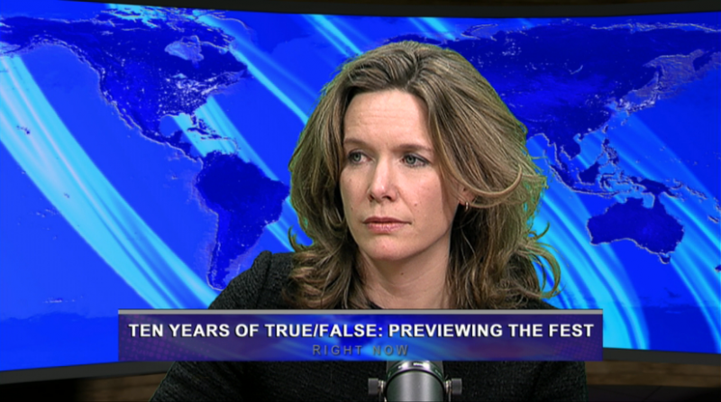 Substitute panelist Amanda Hinnant