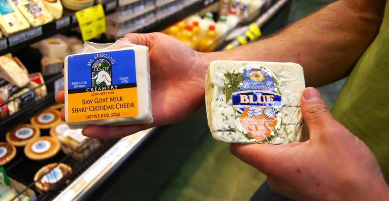 Some consumers consider raw milk cheese more nutritious because pasteurization hasn't killed living beneficial organisms in the milk. But not pasteurizing milk can also allow harmful bacteria to live. Raw milk cheese has sickened more than 500 people in t